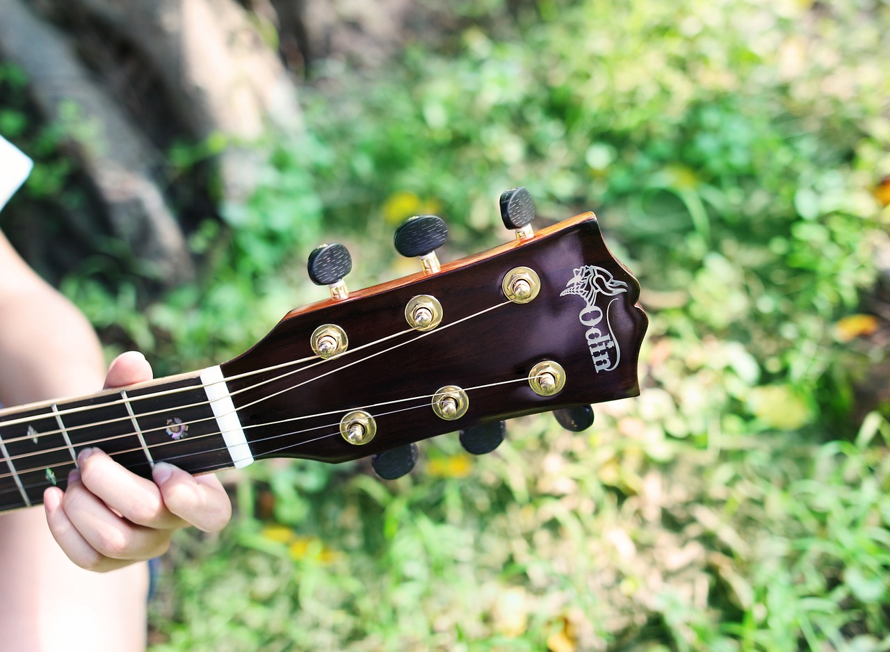 Guitar and its strings are my best friends